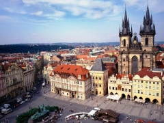 Prag  s posjetom Brnu i češkom Krumlovu