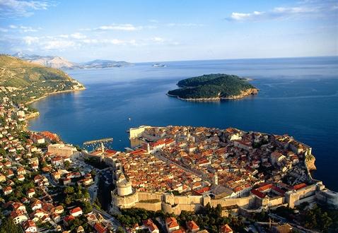 Grad Dubrovnik, panorama grada