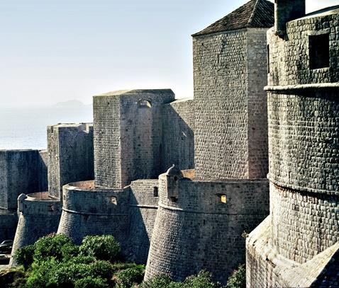 Grad Dubrovnik, zidine stare jezgre