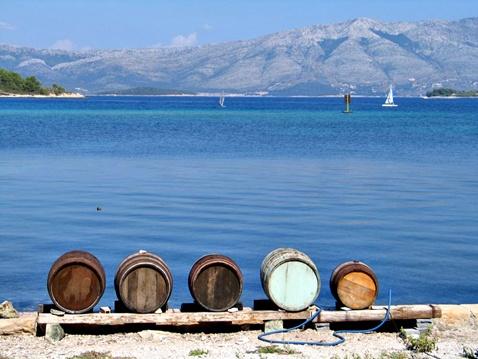 Otok Korčula, grad Lumbarda