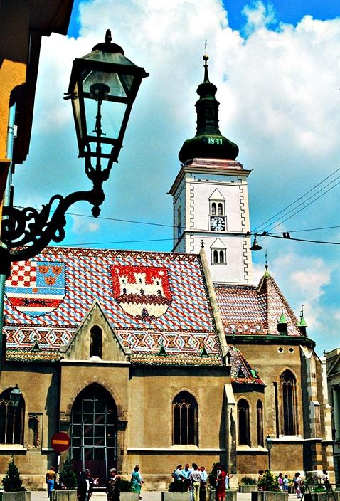 Trg i Crkva Sv.Marka, Zagreb
